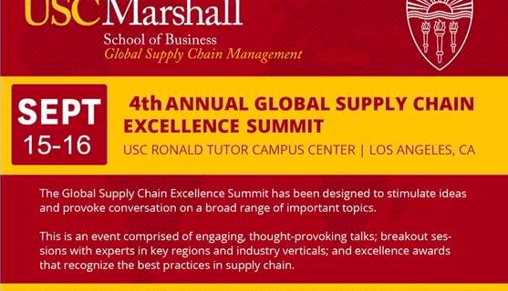Your Invitation to the 4th Annual Global Supply Chain Excellence Summit