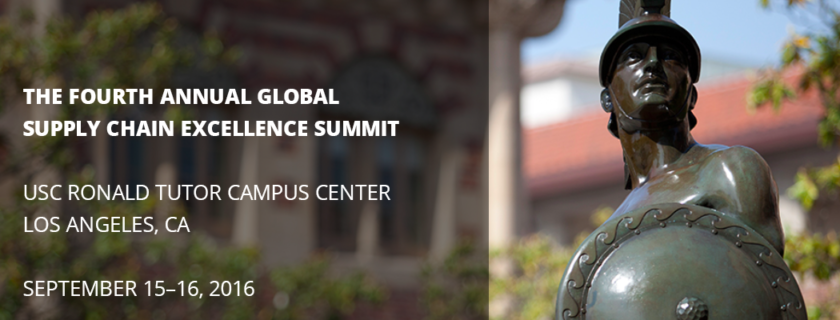 The USC Center for Global Supply Chain Management Will Hold First Two-Day Conference