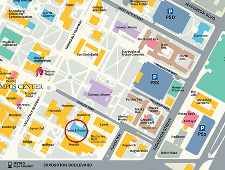 town-and-gown-map - USC Marshall Center for Global Supply Chain ...