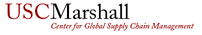 USC Global Supply Chain Management